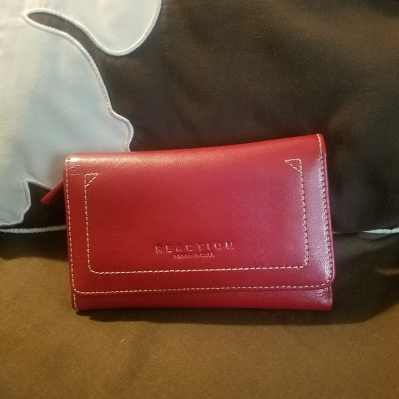 Kenneth Cole Handbags - Red woman's wallet